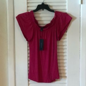 NWT Tommy Hilfiger fuschia top